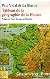 Tableau de la géographie de la France.