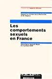 Les comportements sexuels en France. Rapport au ministre de la Recherche et de l'Espace.
