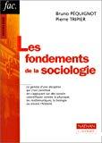 Les fondements de la sociologie.