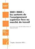 2001-2004 : les sortants de l'enseignement supérieur face au marché du travail