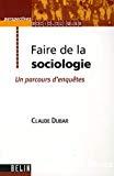 Faire de la sociologie : un parcours d'enquêtes.
