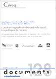 L'analyse longitudinale du marché du travail : les politiques de l'emploi