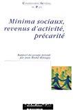 Minima sociaux, revenus d'activité, précarité.
