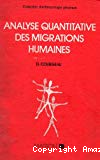 Analyse quantitative des migrations humaines