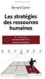 Les stratégies des ressources humaines.