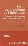 Sortir sans diplôme de l'université : comprendre les parcours d'étudiants