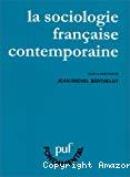 La sociologie française contemporaine.