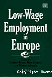 Low-wage employment in Europe.
