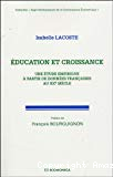 Education et croissance. Une étude empirique à partir des données françaises au XXe siècle.