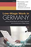 Low-wage work in Germany.