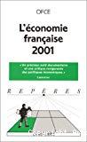 L'économie française 2001.