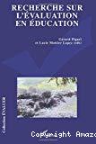 Recherche sur l'évaluation en éducation : problématiques, méthodologies et épistémologie (20 ans de travaux autour de l'ADMEE-Europe).
