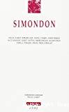 Simondon.
