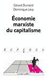 Economie marxiste du capitalisme.
