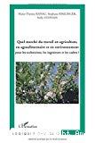 Quel marché du travail en agriculture, en agroalimentaire et en environnement : pour les techniciens, les ingénieurs et les cadres ?