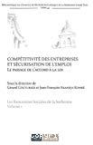 Compétitivité des entreprises et sécurisation de l'emploi