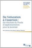 De l'éducation à l'insertion