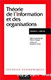 Théorie de l'Information et des organisations.