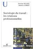 Sociologie du travail : les relations professionnelles.