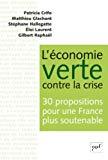 L' économie verte contre la crise