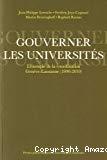 Gouverner les universités