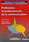 Professions et professionnels de la communication