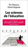 Les sciences de l'éducation.