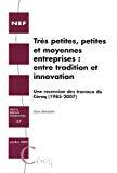 Très petites, petites et moyennes entreprises : entre tradition et innovation