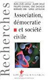 Association, démocratie et société civile.