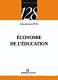 Economie de l'éducation.