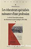 Les éducateurs spécialisés, naissance d'une profession