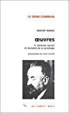 Oeuvres. Vol. 3 : Cohésion sociale et divisions de la sociologie.