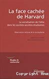 La face cachée de Harvard