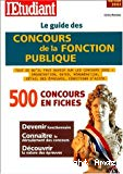 Le guide des concours de la Fonction publique.