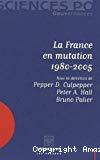 La France en mutation, 1980-2005.
