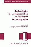 Technologies de communication et formation des enseignants : vers de nouvelles modalités de professionnalisation ?