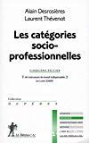 Les catégories socio-professionnelles