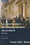 La construction de l'enseignement secondaire (1802-1914)