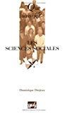 Les sciences sociales.