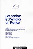 Les seniors et l'emploi en France.