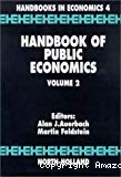 Handbook of public economics : volume II.