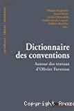 Dictionnaire des conventions