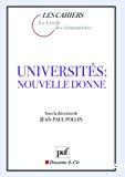 Universités : nouvelle donne.