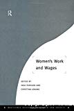 Women's work and wages.