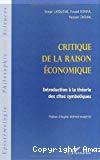 Critique de la raison économique. Introduction à la théorie des sites symboliques.