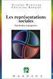 Les représentations sociales. Etat des lieux et perspectives.