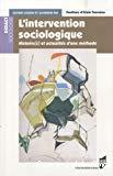 L'intervention sociologique