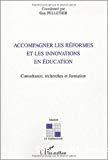Accompagner les réformes et les innovations en éducation : consultance, recherches et formation.