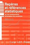 RERS - Repères et références statistiques sur les enseignements, la formation et la recherche