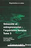 Université et entrepreneuriat